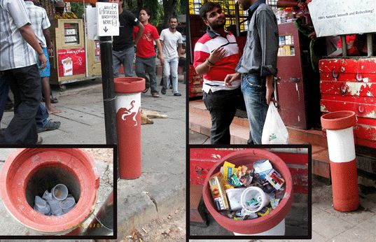 Cigarette Litter The Ugly Indian
